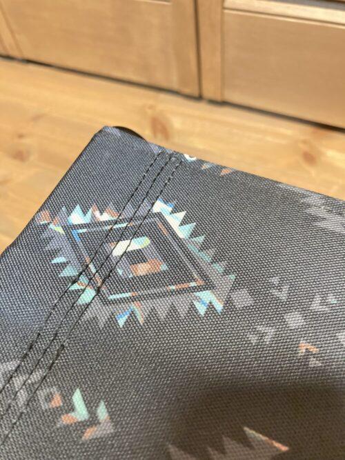 KiU フォールディングスツールの縫製