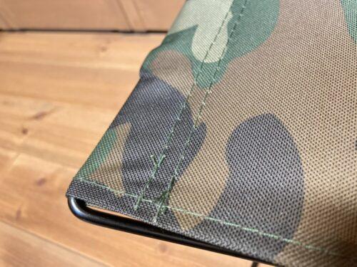 キャンドゥ フォールディングチェアの縫製